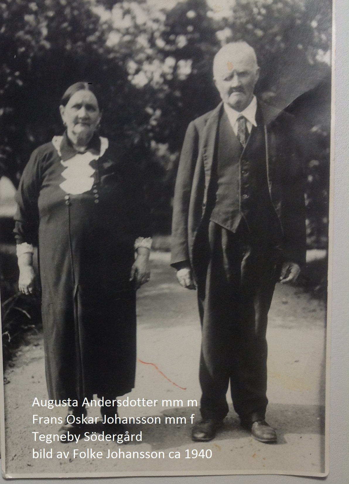 Frans-Oskar  och Augusta Johansson